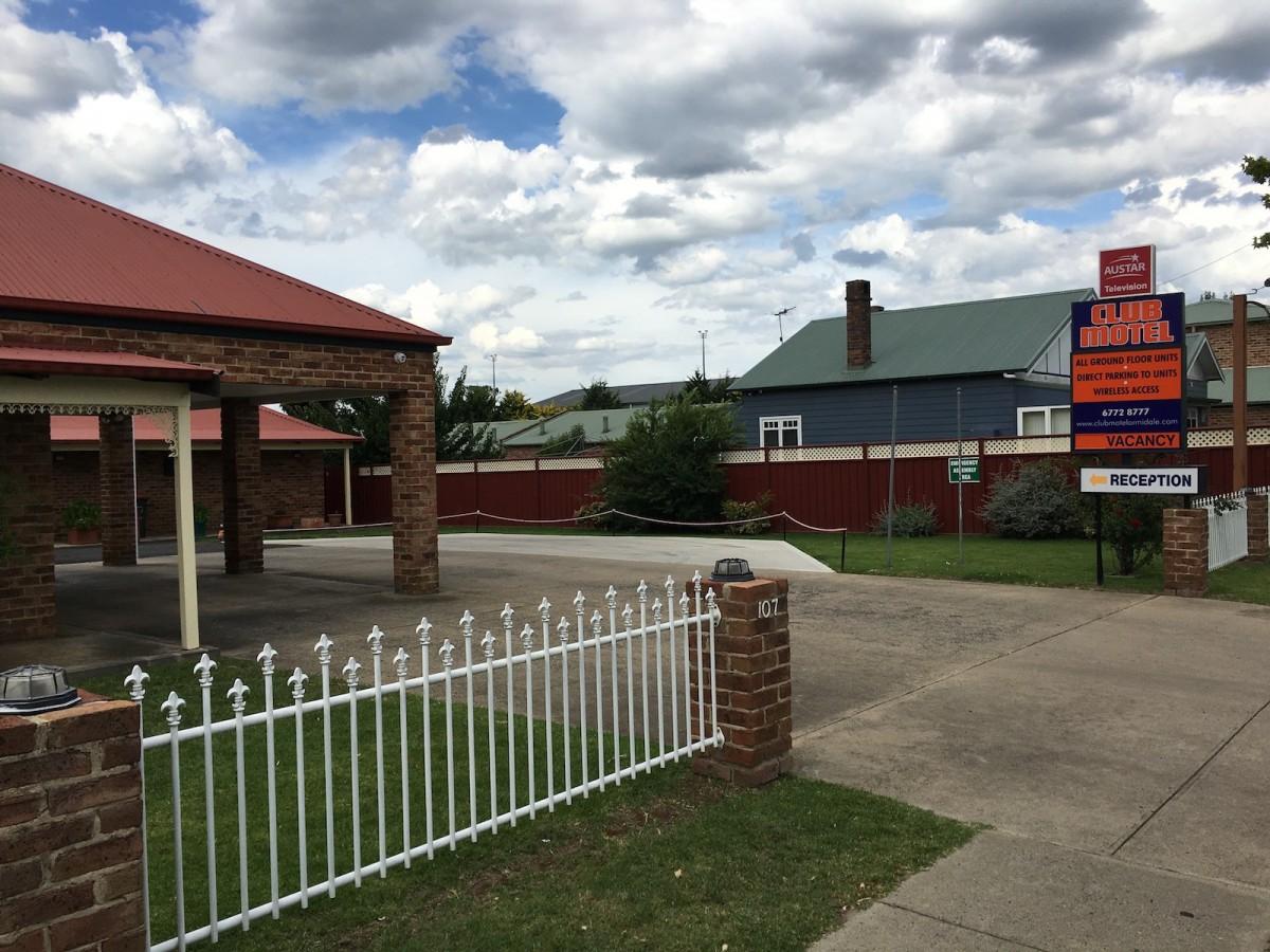 Club Motel Armidale Entry