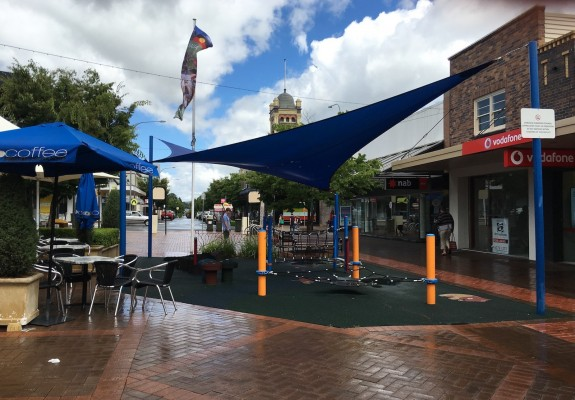 kids playground in the armidale mall