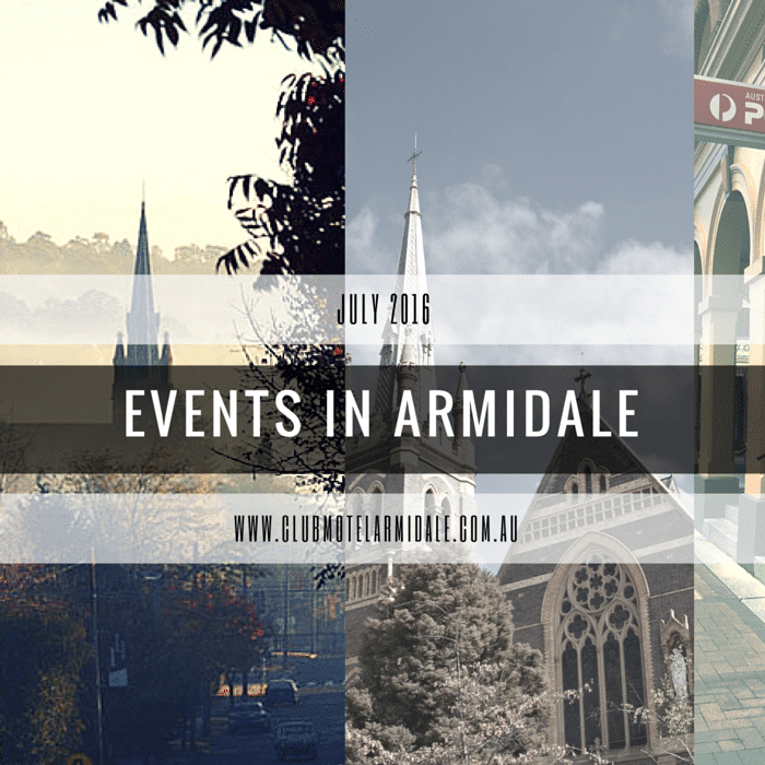 Events In Armidale In July 2016