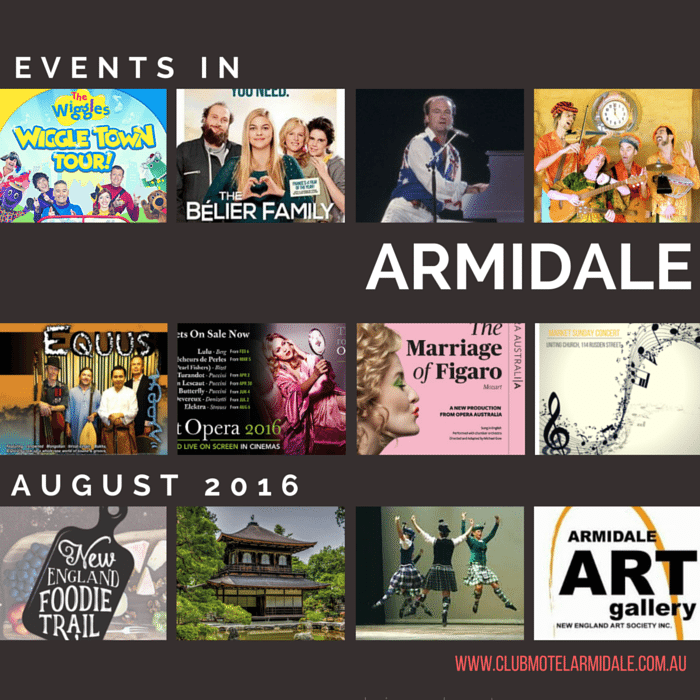 Events in Armidale in August 2016