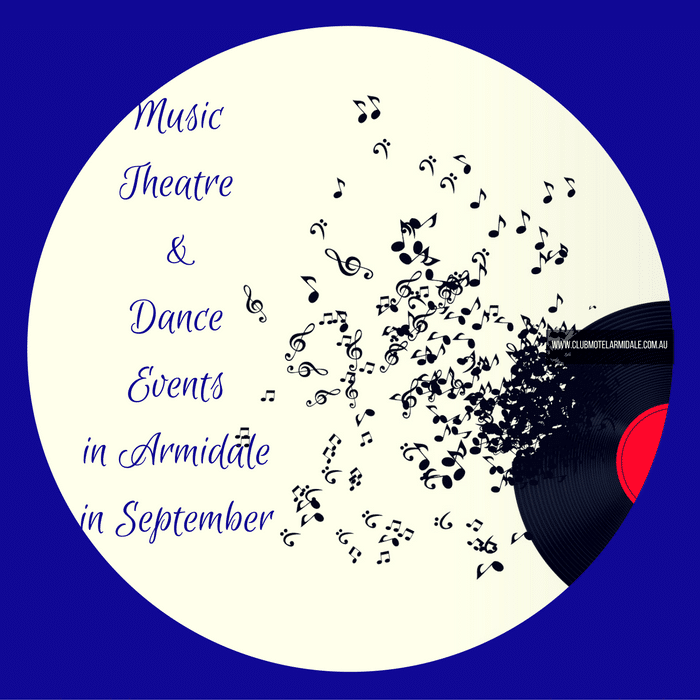 Music, Theatre & Dance Events in Armidale in September 2016