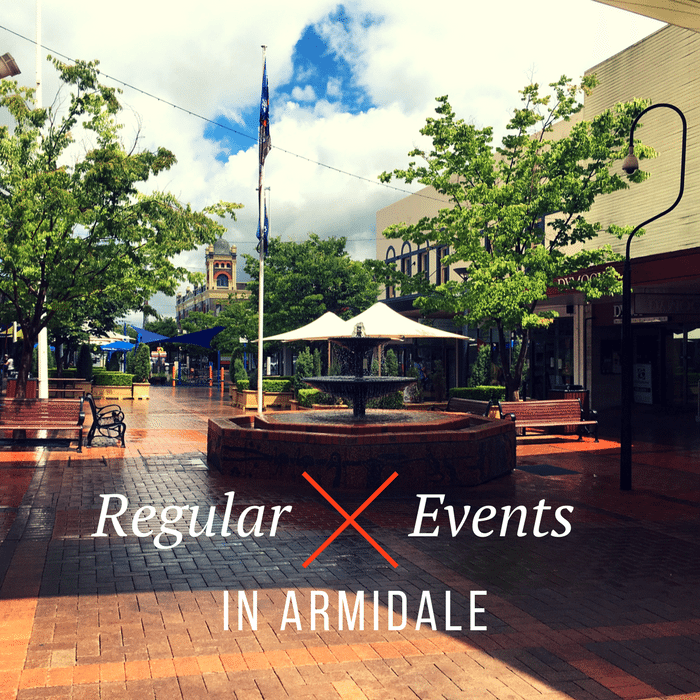 Regular events in Armidale