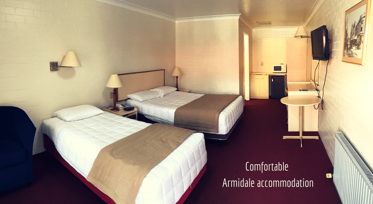 comfortable Armidale accommodation