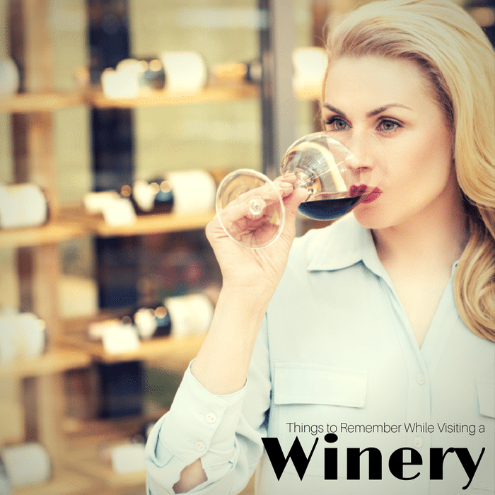 Important Things to Remember While Visiting a Winery -